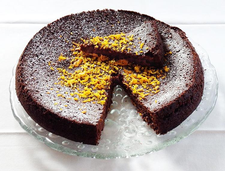 Orangen schoko torte rezept