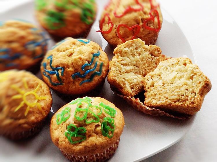 Amaretto-Mandel-Muffins