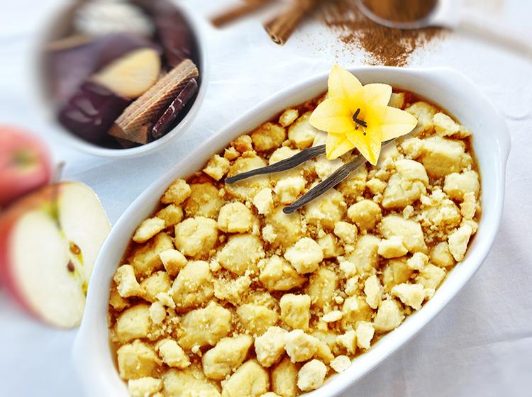 Apple-Pie-Streusel-Dip