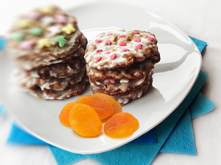 Aprikosen-Müsli-Cookies