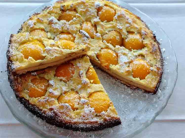 Aprikosenrahmkuchen