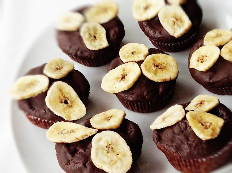 Bananen-Zimt-Muffins