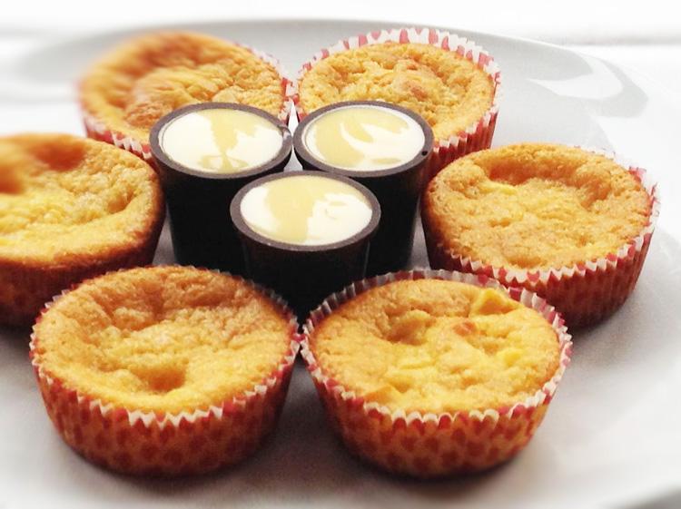 Orangen-Eierlikör-Muffins