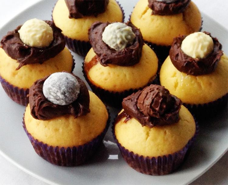 Getrüffelte Cupcakes