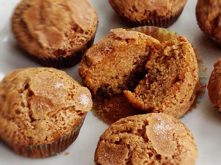 Gewürzkuchen-Muffins