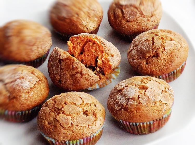 Gewürz-Kuchen-Muffins