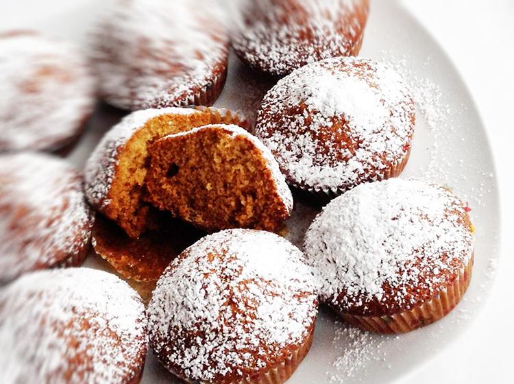Ingwer-Gewürz-Muffins