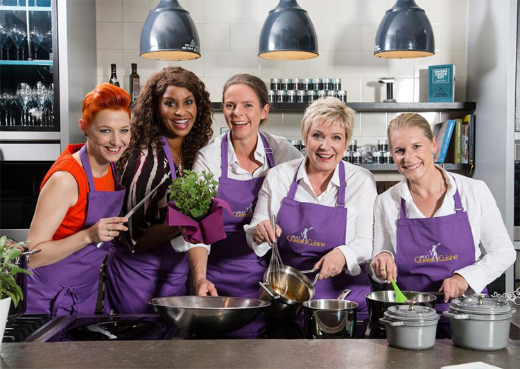 Die Jury von Next Queen of Cuisine
