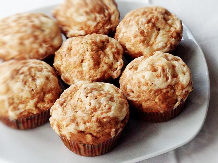 Kraut-Speck-Muffins