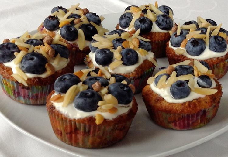 Müsli-Cupcakes