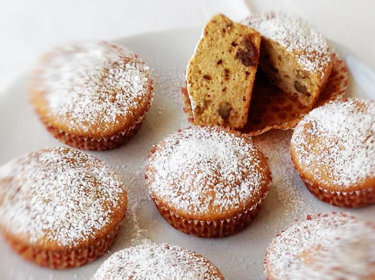 Orangen-Dattel-Nuss.Muffins