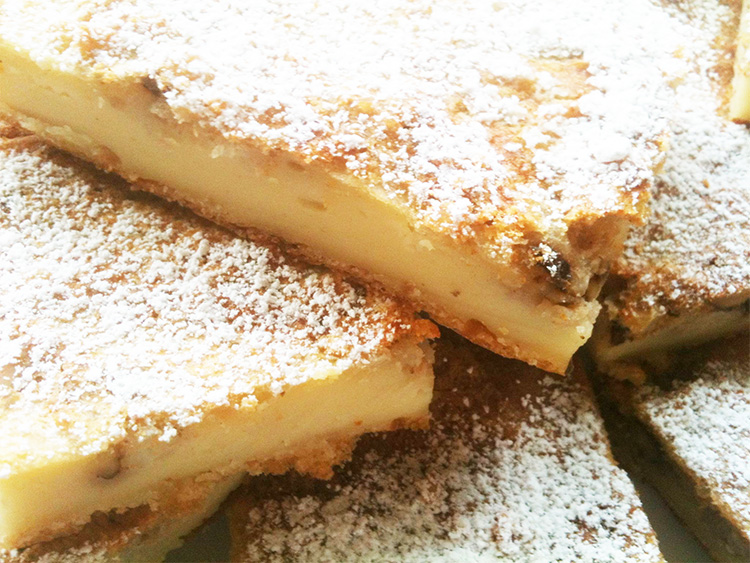 Reis-Walnuss-Kuchen