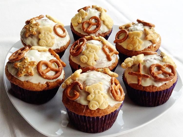 Salzgebäck-Muffins