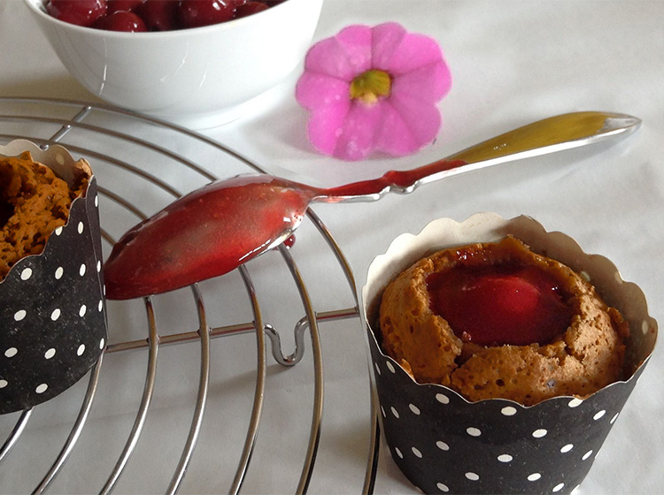 Schoko-Amarena-Muffins