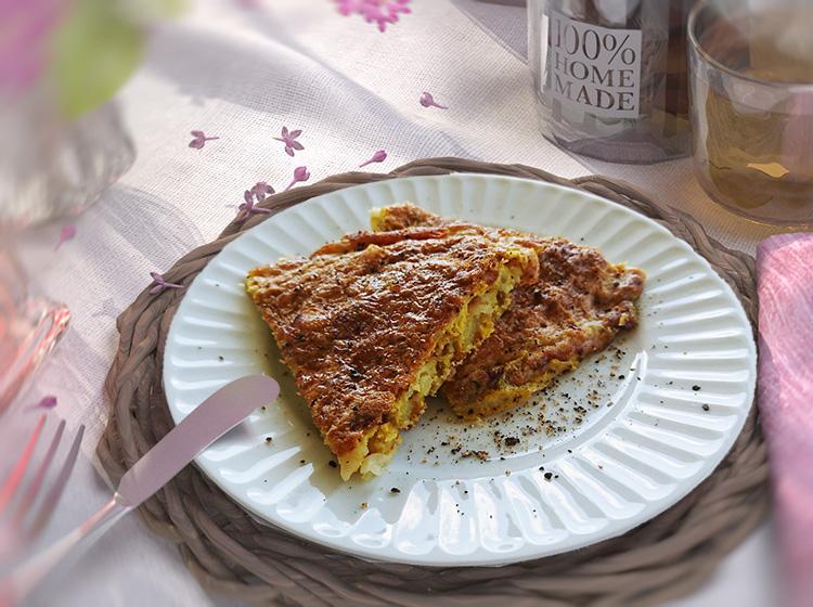 Tortilla auf klassische Art (Zutaten für 4 Personen)